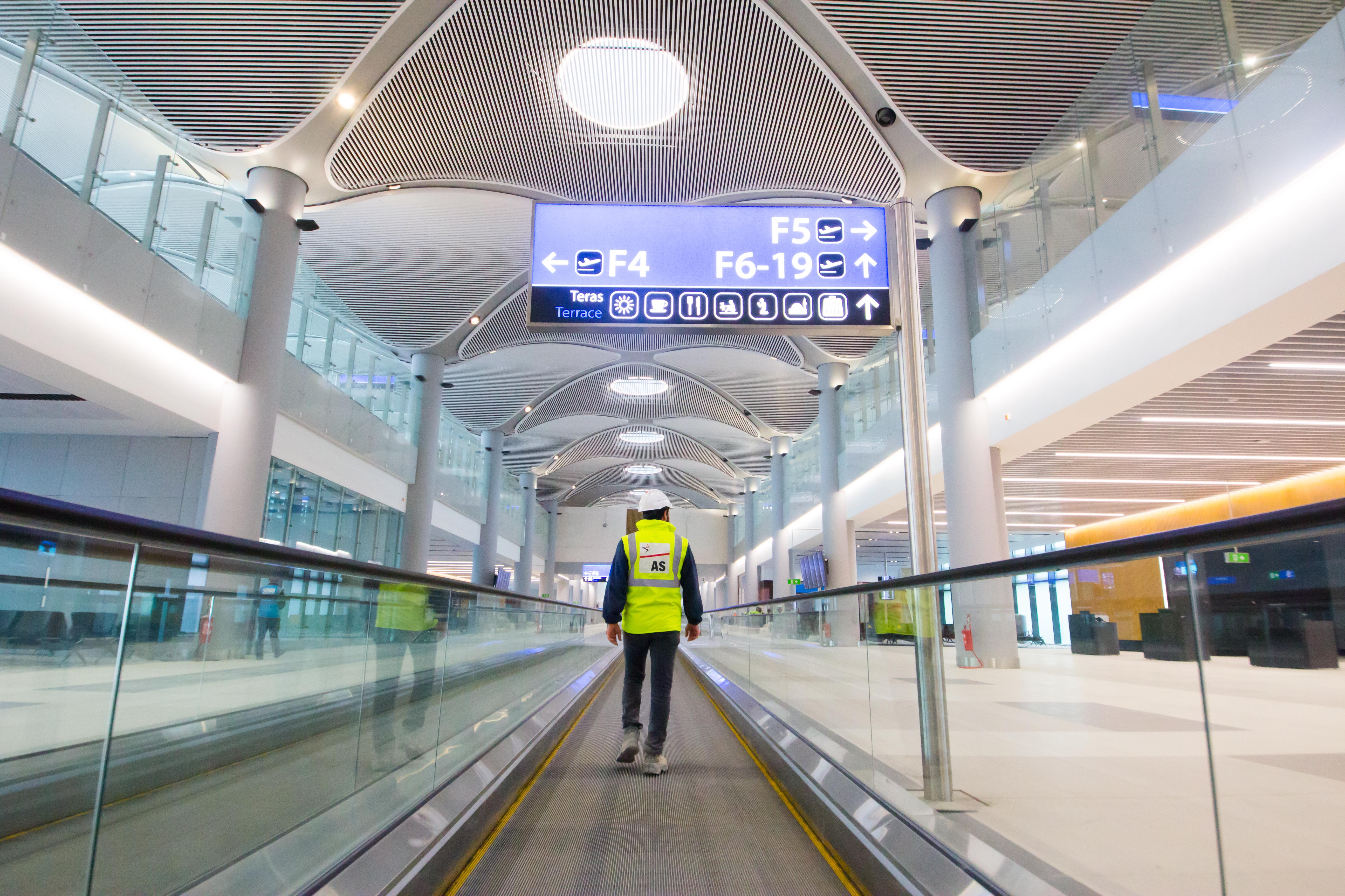 ISTANBUL NEW AIRPORT TERMINAL BUILDINGS